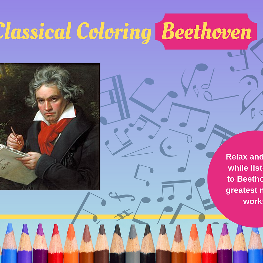 Classical Coloring - Beethoven