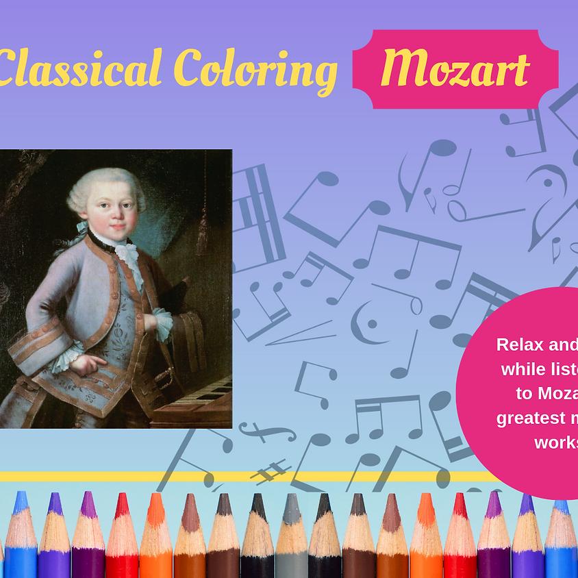 Classical Coloring - Mozart