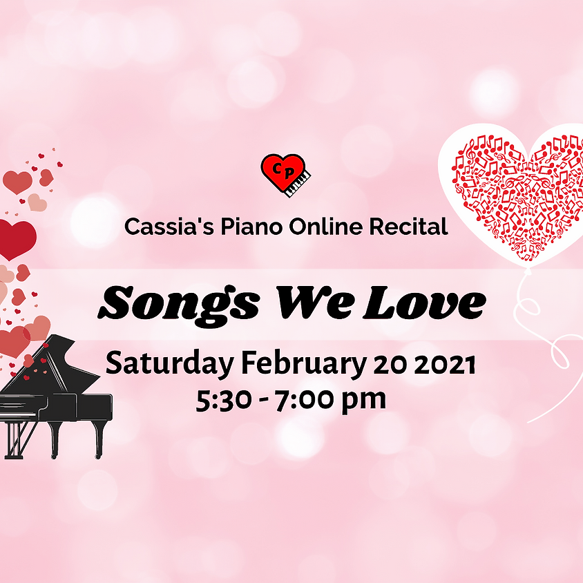 Songs We Love Recital
