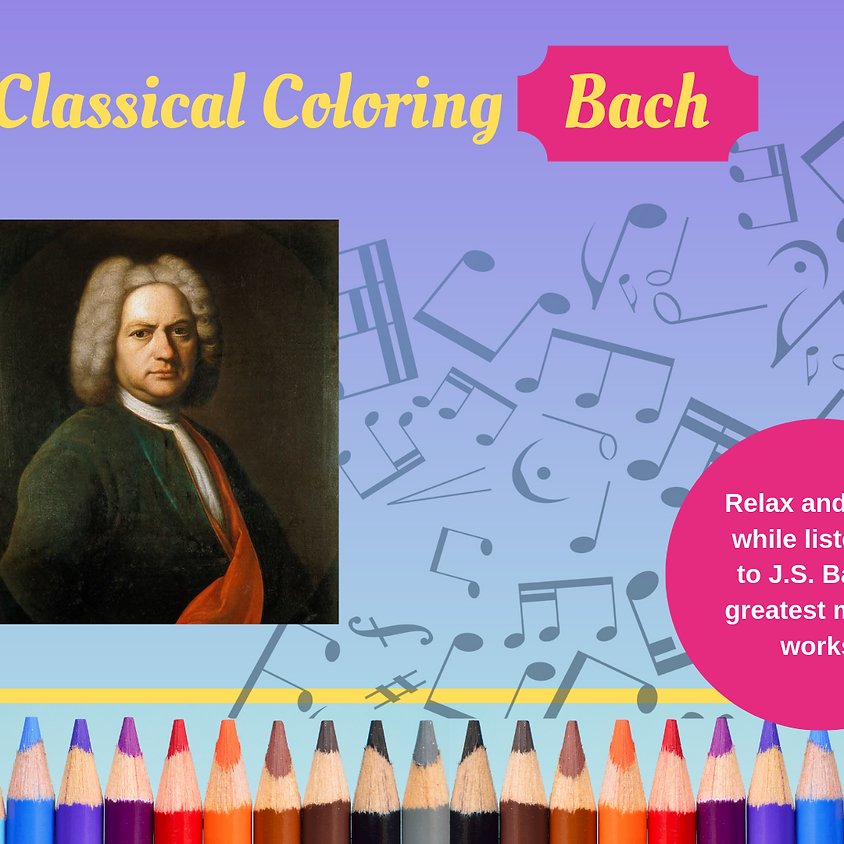 Classical Coloring - Bach