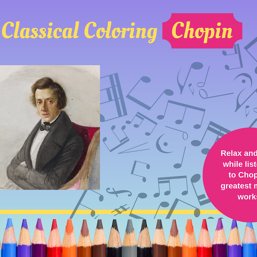 Classical Coloring - Chopin