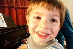 Preschool Piano Boy