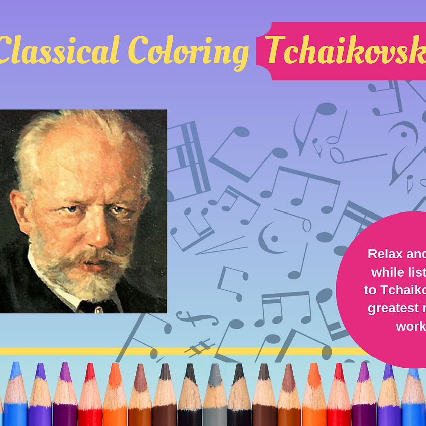 Classical Coloring - Tchaikovsky