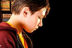 Teen Piano Student Boy