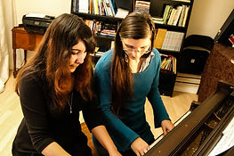 Adult Piano Student Lesson