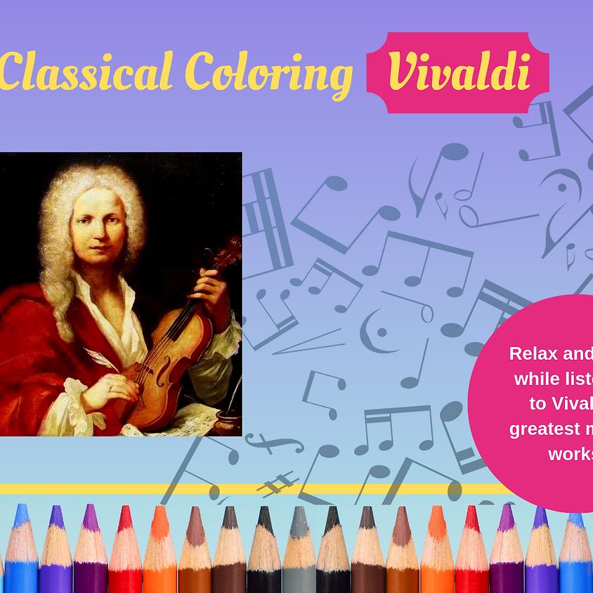 Classical Coloring - Vivaldi