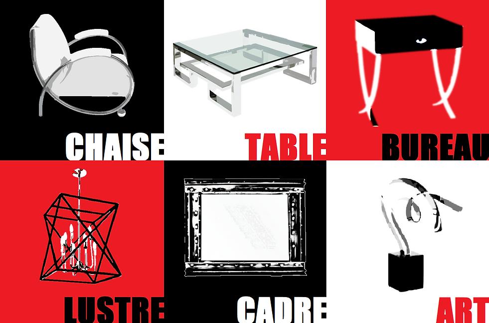 Meuble sur mesure, mobilier sur mesure, fabrication de meuble, table, chaise, bureau, lustre, lumnaire, cadre, sculpture, acier, acie inoxidable,
