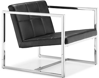 Chaise, acier inoxydable.png