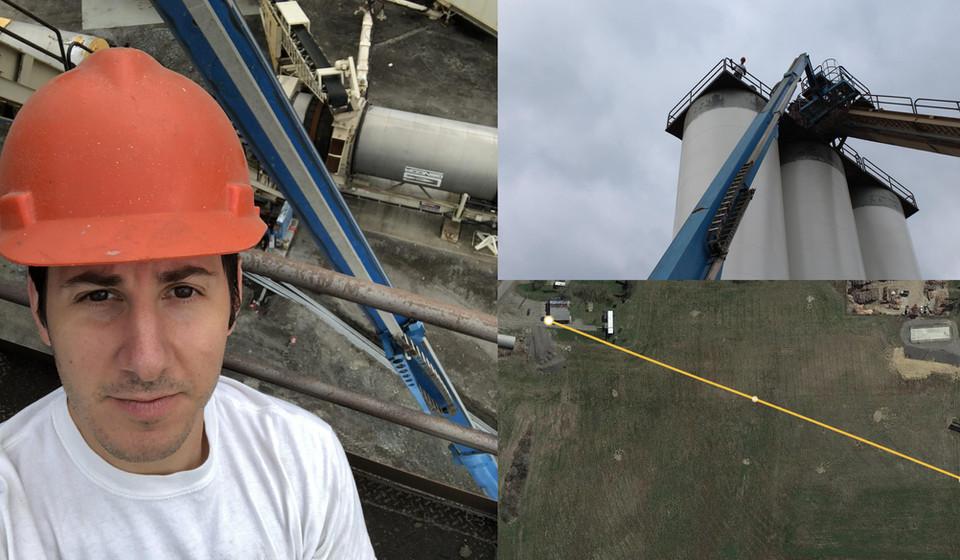 Asphalt Plant Wireless Link