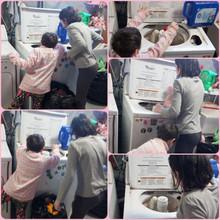 Washing stuffies