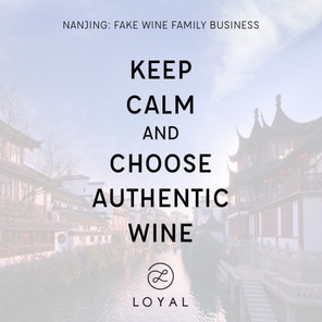 FAKE WINE FAMILY BUSINESS IN NANJING