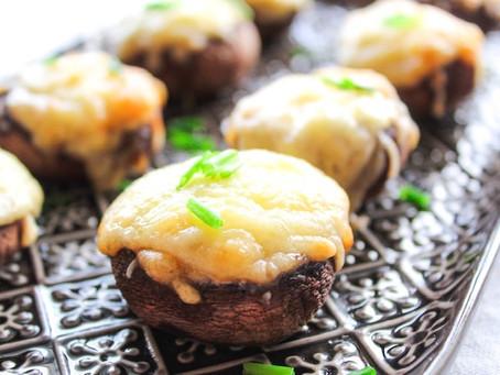 Champignons gevuld met kaas