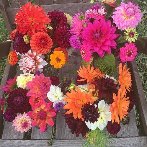 Pint Summer Flower Subscription