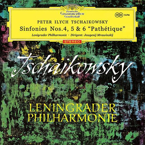 "Tchaikovsky - Sinfonies Nos. 4, 5 & 6 ""Pathétique"""