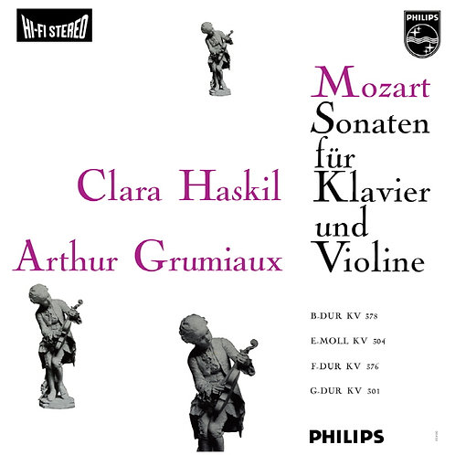 Mozart - Sonatas for piano and violin