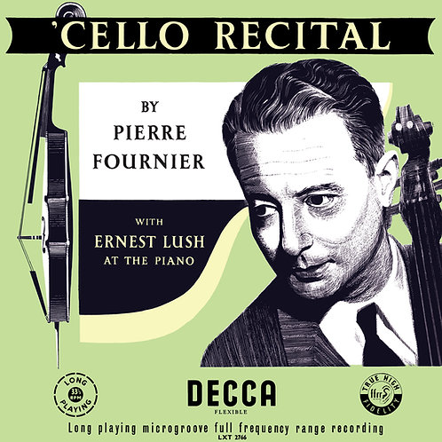 Cello Recital by Pierre Fournier