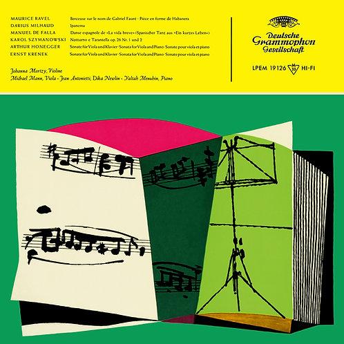 Ravel. Milhaud, De Falla, Szymanowski