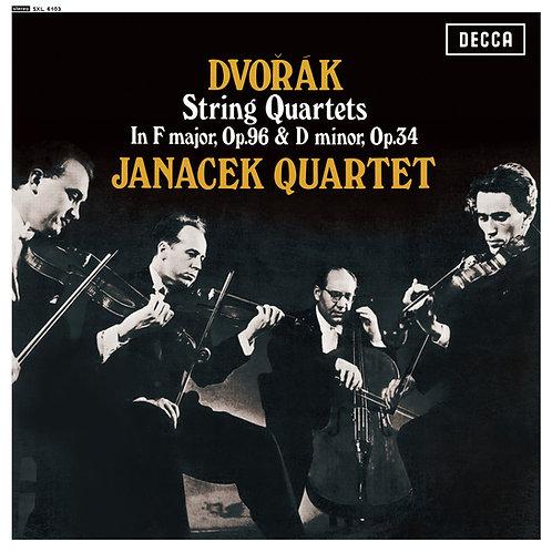 Dvořák — String Quartets op.96 & op.34