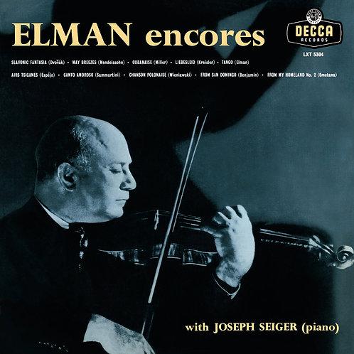 Mischa Elman - Encores