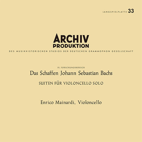 J. S. Bach — Cello Suites BWV 1007~1012