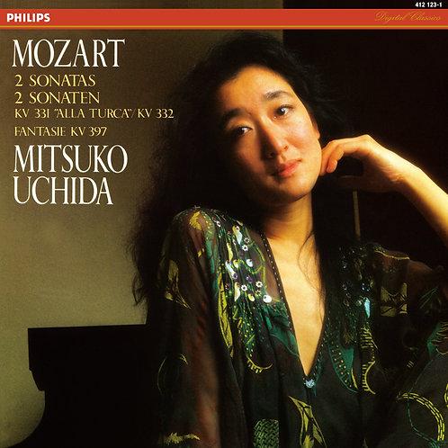 Mozart — Piano Sonatas KV 331 & 332