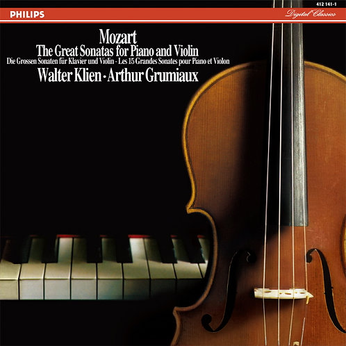 Mozart — The Great Sonatas for Piano and Violin