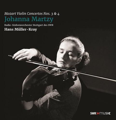 Mozart — Violin Concertos Nos 3 & 4