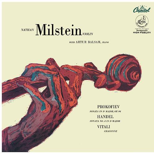 Prokofiev & Händel — Violin Sonatas, Vitali–Chaconne