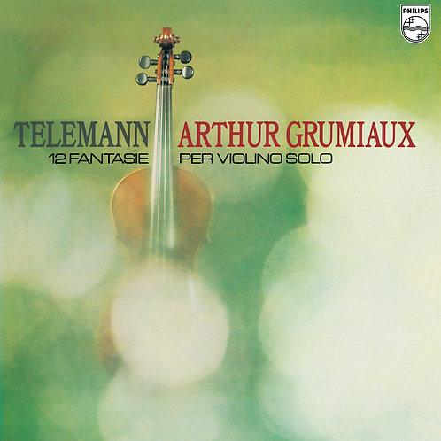 Telemann - 12 Fantasias for Violin Solo