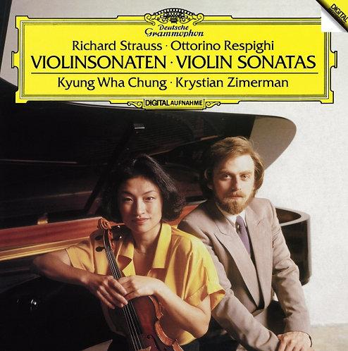 Strauss/Respighi : Violin Sonatas