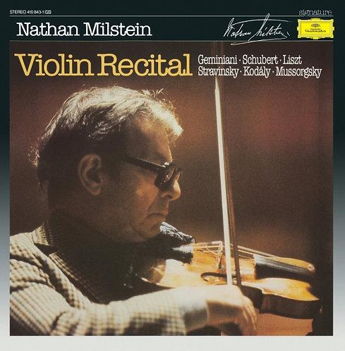 Violin Recital - Nathan Milstein