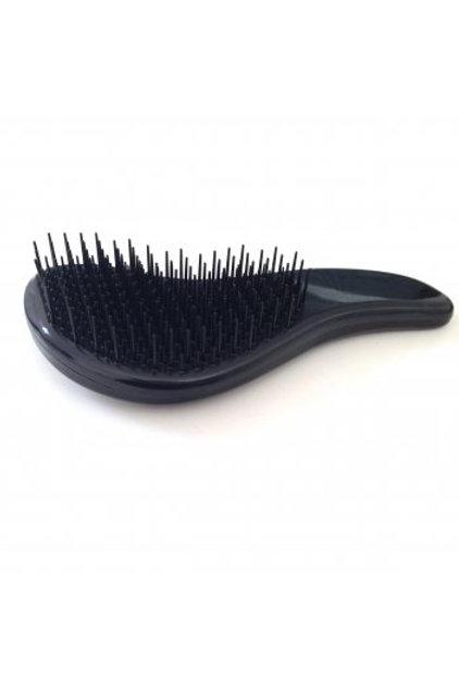 Black Hair Extension Detangler Brush
