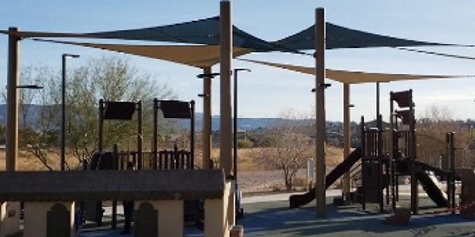 Friday!  Whitney Mesa Park Day