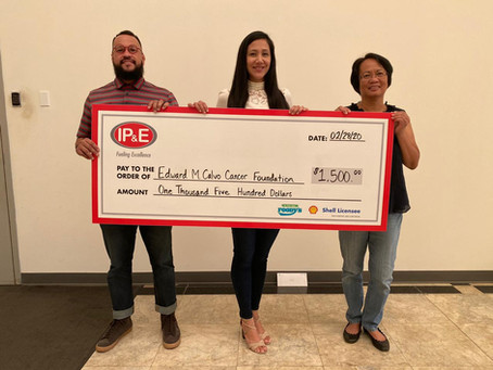 IP&E Makes Donation