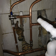 Hot and Cold pipework