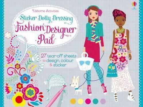 Sticker Dolly Dressing Fashion Designer Pad Fiona Watt
