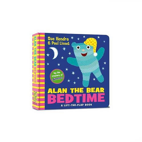 Alan the Bear Bedtime by Sue Hendra & Paul Linnet