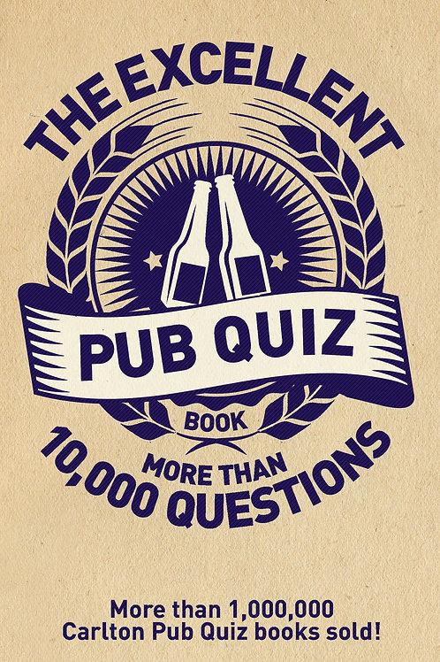 Excellent Pub Quiz Book       by Roy Preston