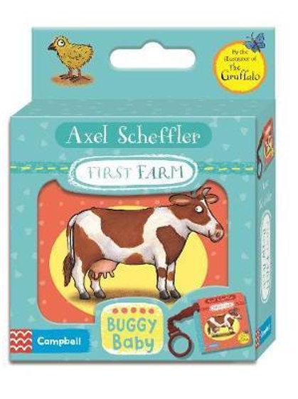 Axel Scheffler First Farm Buggy Book Axel Scheffler