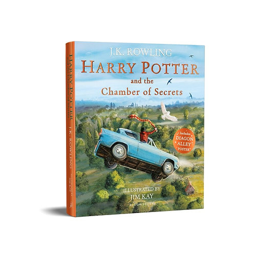 Harry Potter and the Chamber of Secrets: Illustrated Edition J.K. Rowling
