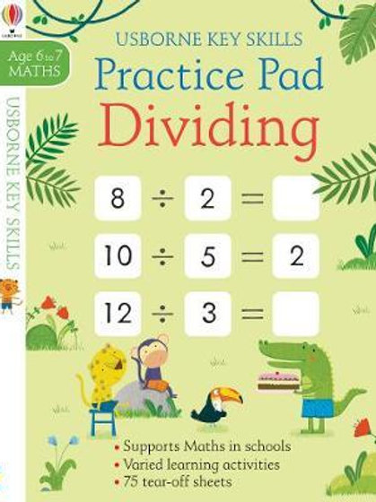 Dividing Practice Pad 6-7       by Simon Tudhope