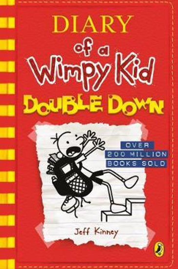 Diary of a Wimpy Kid: Double Down (Diary of a Wimpy Kid Book 11) Jeff Kinney