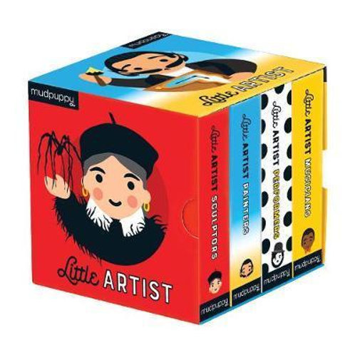 Little Artist Board Book Set