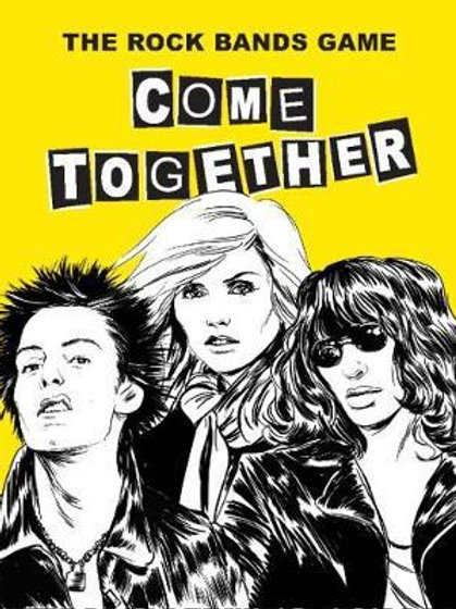Come Together: The Rock Bands Game Rob Platts