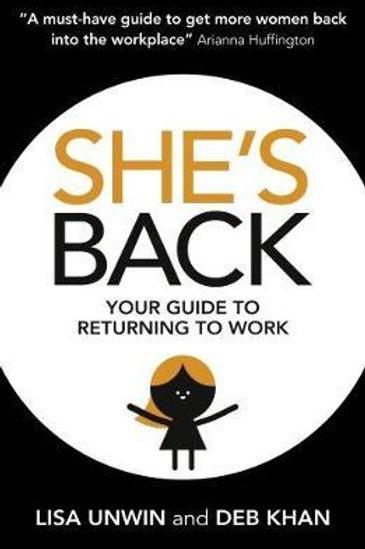She's Back       by Lisa Unwin