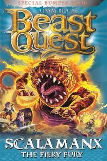 Beast Quest: Scalamanx the Fiery Fury       by Adam Blade