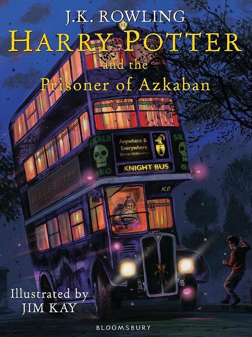 Harry Potter and the Prisoner of Azkaban: Illustrated Edition J. K. Rowling