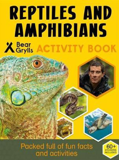 Bear Grylls Sticker Activity: Reptiles & Amphibians Bear Grylls