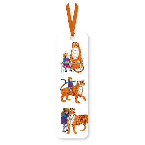 The Tiger who Came to Tea bookmark