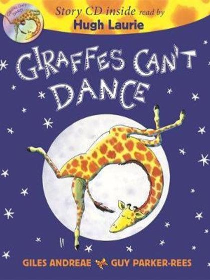 Giraffes Can't Dance Book & CD Giles Andreae